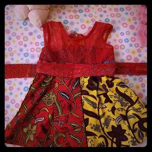 Baby girl print dresses